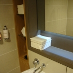 Silestone Washroom shelf