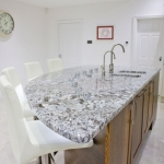 Bianco Antique with Silestone Amazon