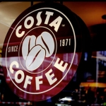 Counter tops at Costa Coffee